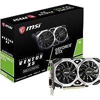 MSI GeForce GTX 1650 Ventus XS 4G OC - Tarjeta gráfica (4 GB, GDDR5, 128 bit, 7680 x 4320 Pixeles, PCI Express x 16 3.0)