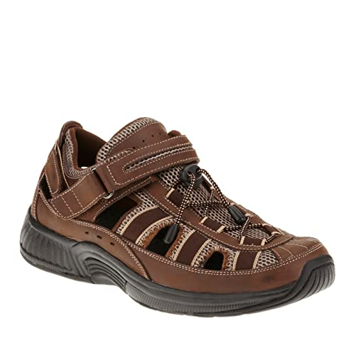 8df893726f Orthofeet Clearwater Comfort Diabetic Mens Orthopedic Sandals Fisherman  Brown Leather 13 XW US