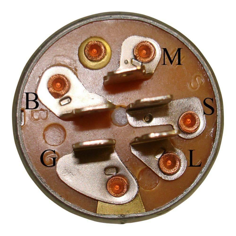 BMS - Interruptor de Encendido y Llaves para cortacésped Murray ...