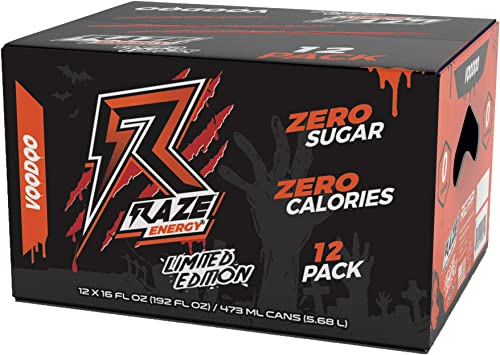 Repp Sports Raze Energy Voodoo, 12 Count, 12 Count