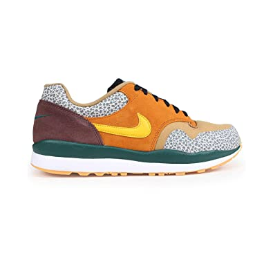 Nike Mens Air Safari SE Monarch/Flax/Mahogany Mink/Yellow Ochre AO3298-