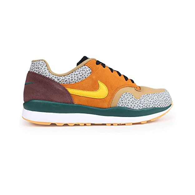 Amazon.com | NIKE Mens Air Safari SE Monarch/Flax/Mahogany Mink/Yellow Ochre AO3298-800 | Shoes