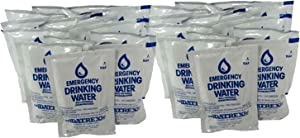 Datrex Emergency Water Packet - 3 Day/72 Hour Supply (24 Packs) (1 Pack)