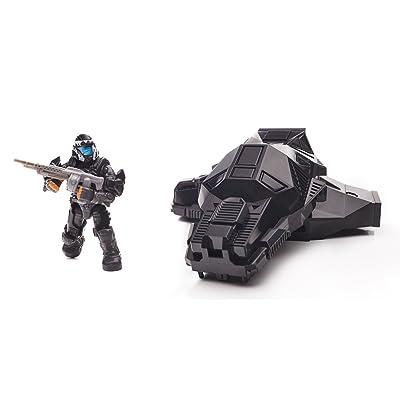 Mega Bloks Halo Drop Pod Metallic Stealth ODST Toy Figure: Toys & Games