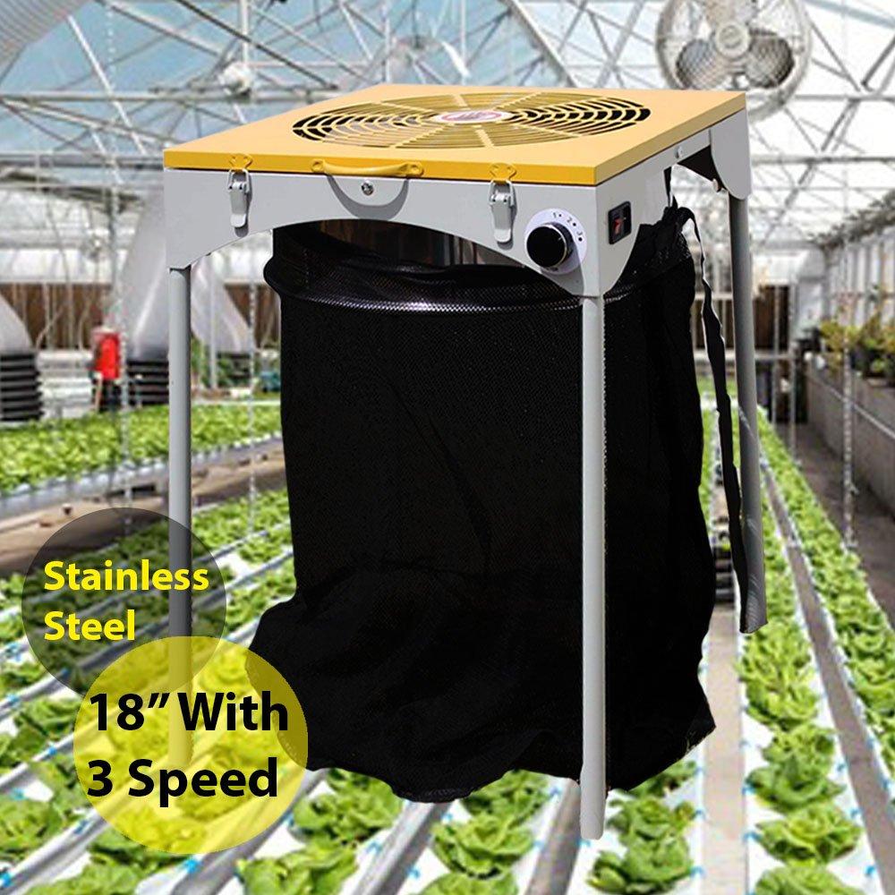 sunGROOM Motor Leaf Trimmer 18'' 110V 3 Speed Industrial Electric Hydroponic Bud Flower