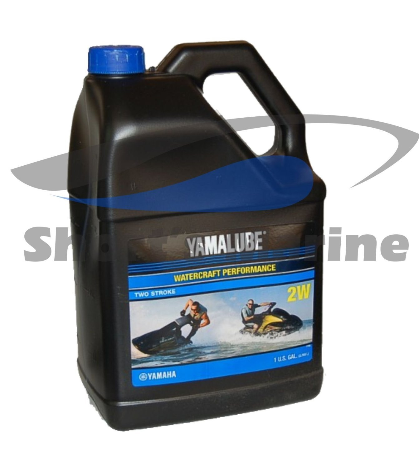 Yamaha LUB-2STRK-2W-04 Yamalube 2W Watercraft 2-stroke oil Waverunner Gallon; New # LUB-2STRK-W1-04 Made by Yamaha Yamaha Marine 4333044651