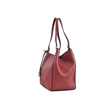 324444a83b0 Burberry Canterbury Red Embossed Check Leather Tote  Amazon.ca  Sports    Outdoors