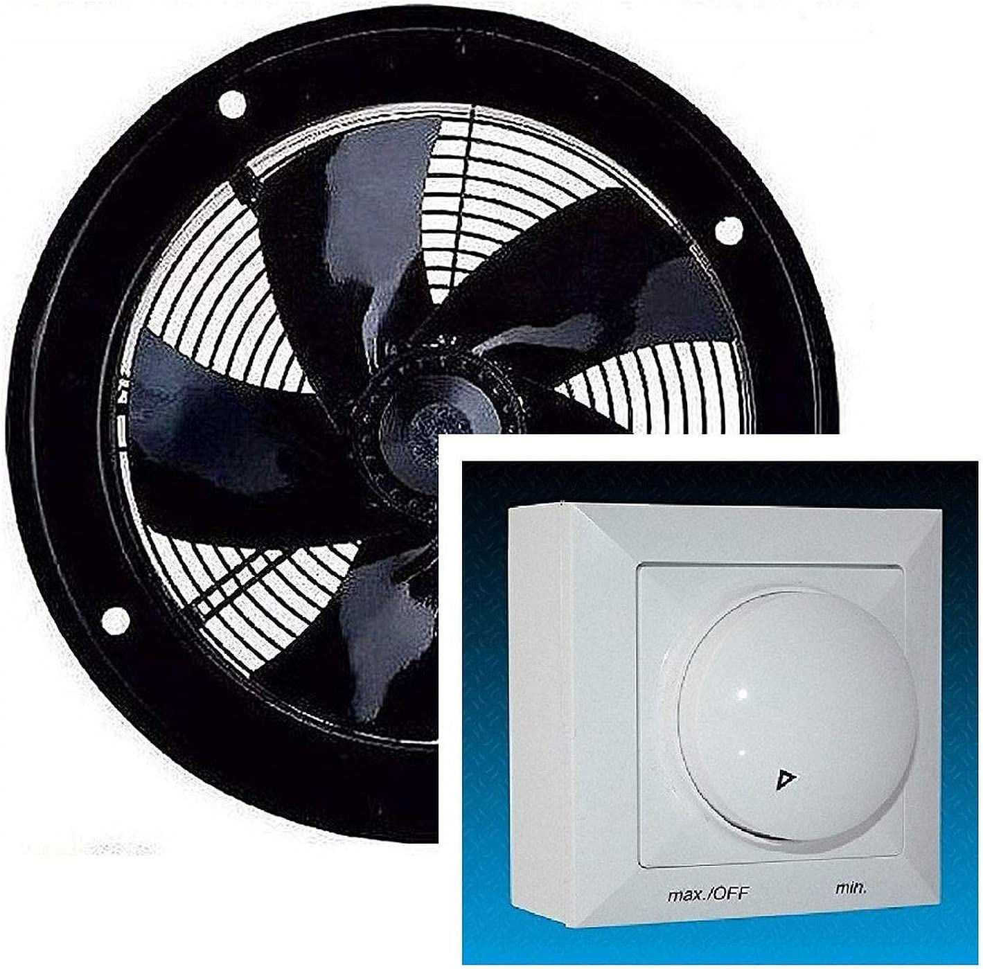 Ventilador de pared extractor