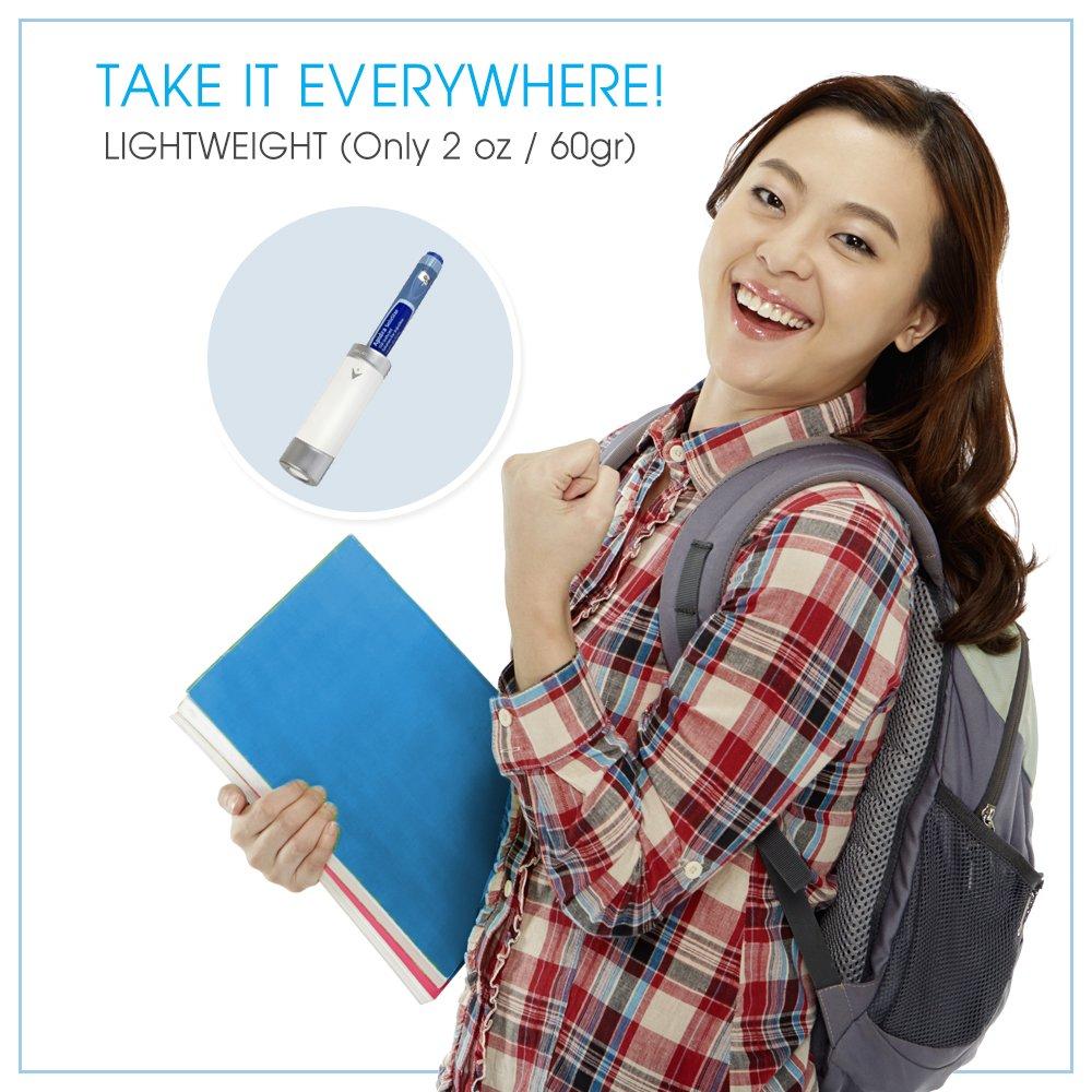 Small Reusable Insulin Cooler Pen-Cap by TempraMed | Vivi CAP1 for Sanofi SoloStar: Lantus, Apidra | Keeps Insulin Cool | for Daily use and Travel | FDA Registered by VIVI CAP (Image #8)