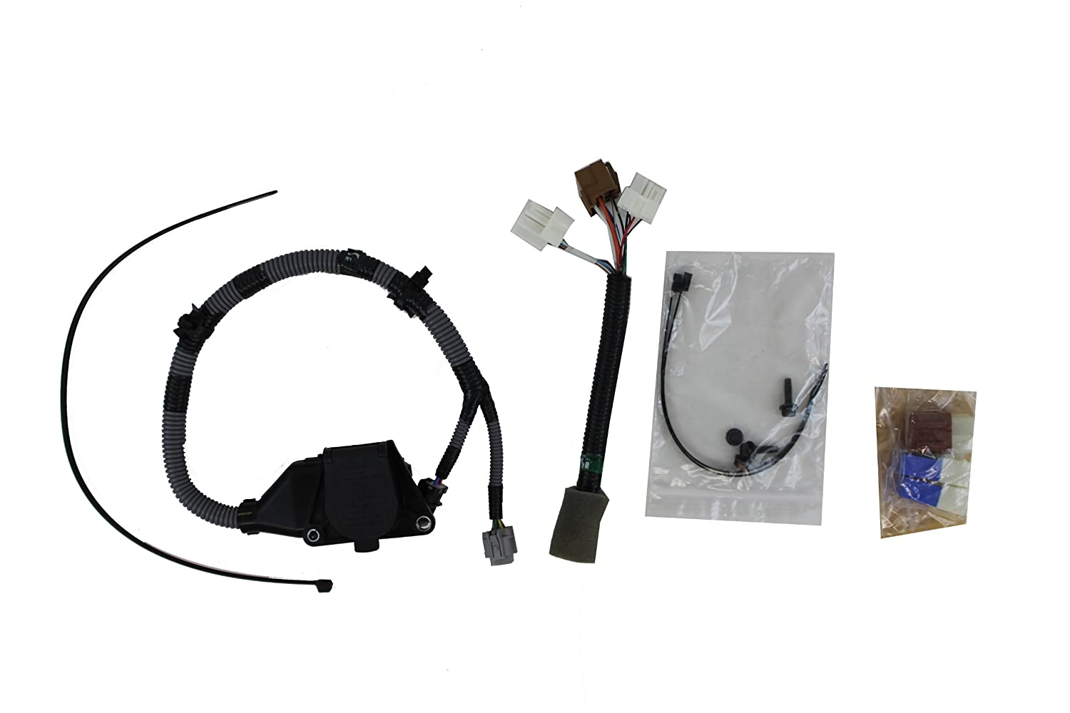 Genuine Nissan Accessories 999t8 Br020 7 Pin Tow Harness 2012 Frontier Way Flat Trailer Towing Wiring Automotive