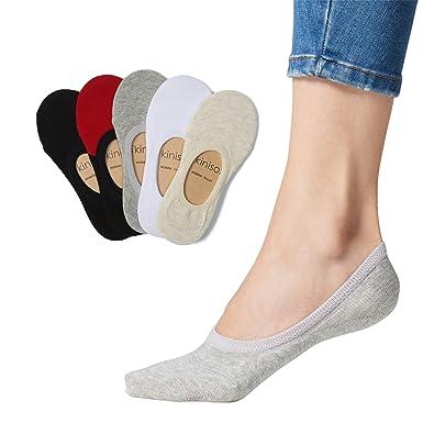0d007b1fe1de7 SKINISOX - Women's No-Show Socks | Premium Cotton | Non-Slip | SkiniBARE  Series