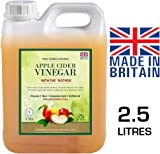 Pure Source Nutrition RAW Apple Cider Vinegar with Mother 2.5 Litres Applecider Weight Loss Detox Organic / Unfiltered / Unheated / Unpasteurised
