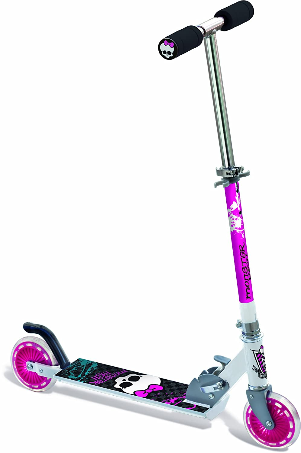 Monster High - Patinete (Aluminio, 2 Ruedas), diseño de ...