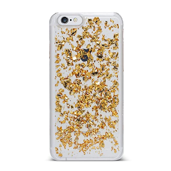 low priced e0c68 6fb37 Nanette Lepore Iphone 7 Case (Foil Flakes Gold)