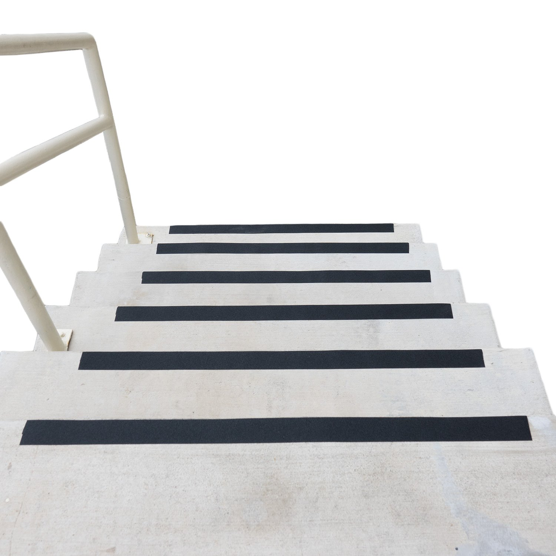 Black Anti Slip Safety Grit Non Slip Tape - Highest Traction 60' Feet Many Sizes (2 inch width)