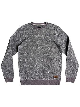 Crew Heather Sweater Light Grey s Grey Keller Quiksilver wPqIZA