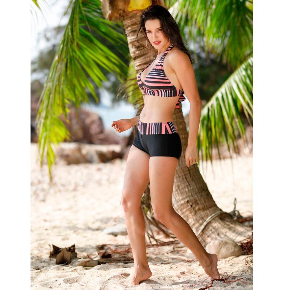 Bikini Sets Damen Schwimmen Kost/üme Bademode Push up BH Zweiteiler Swimwear Strand Swimsuits