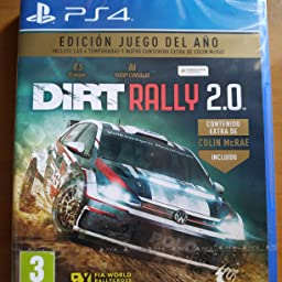 Dirt Rally 2.0 - Edición Juego del año - PS4: Amazon.es: Videojuegos