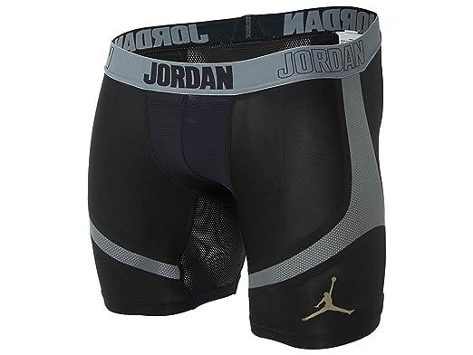 fc4cff437354 Jordan Men s Jordan 6 quot  Stay Cool Compression Basketball Shorts Small  Black Cool Grey