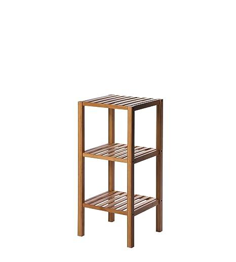 6738d438516d Ridder Macau scaffalatura a 3 ripiani per serre - 34 x 33 x 80 cm bambù