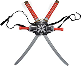 JOYIN Ninja Sword Ninja Weapon Toy Set for Kids Costume Party Play
