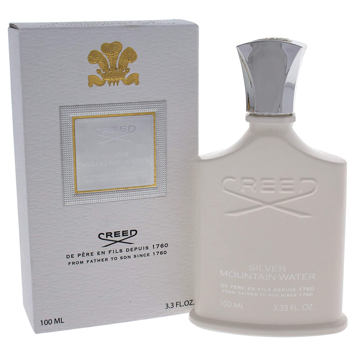 Creed Silver Mountain Water Eau De Parfum Spray, 3.3 Ounce Nandansons (DROPSHIP) 3508441001053