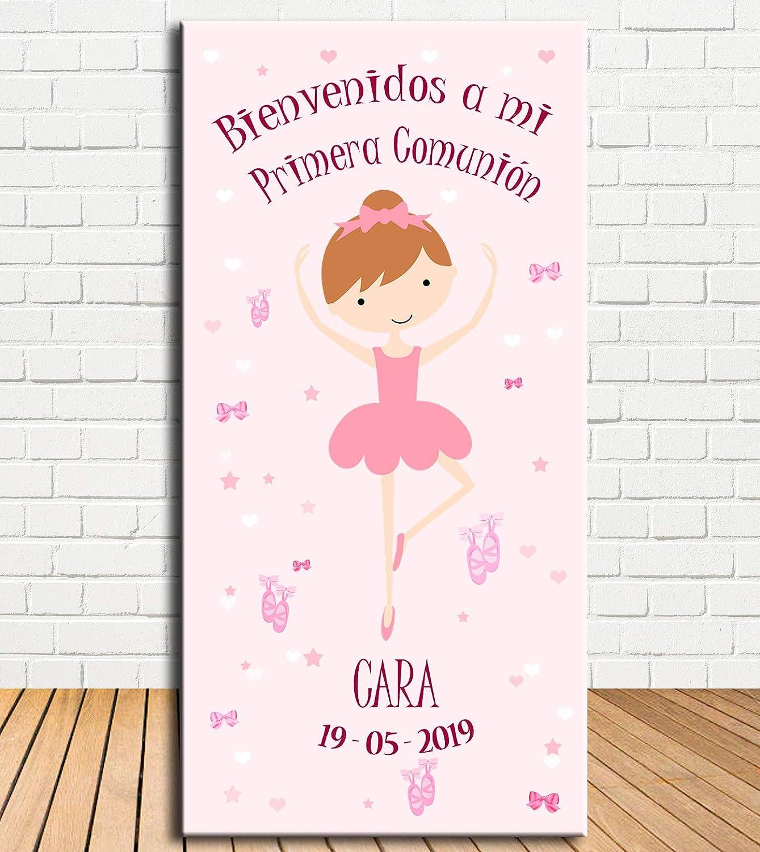 Tu Fiesta Mola Mazo Cartel de Bienvenida Bailarina 140x70cm ...