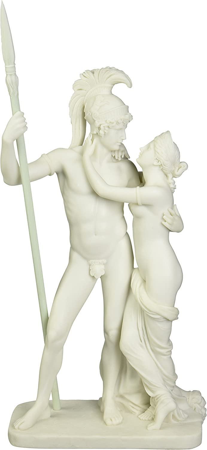 Amazon Com Design Toscano Wu73129 Ares And Aphrodite Mars And Venus Bonded Marble Statue Home Kitchen