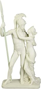Design Toscano WU73129 Ares and Aphrodite (Mars and Venus) Bonded Marble Statue