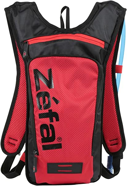 Zefal Unisexs Z Hydro Hydration Pack Black//Red Large