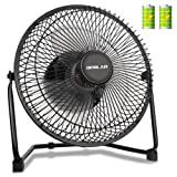 Amazon Price History for:OPOLAR Biggest Battery Operated and USB Powered Fan with TWO batteries, Rechargeable Desk Fan with 9 Inch Metal Frame, Enhanced Airflow, Lower Noise, Two Speeds, Personal Cooling Fan for Home & Office