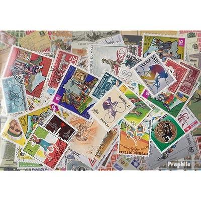 Motives 100 différents vélos timbres (Timbres pour les collectionneurs) vélos