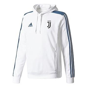 2017-2018 Juventus Adidas Hooded Sweat Top (White), Jerseys - Amazon Canada e838953c6d51