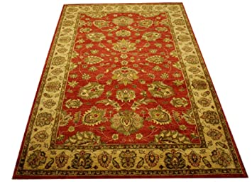 Tela Teppich Orient Tapis Ziegler Pakistan 276 X 188 Cm 100 Coton
