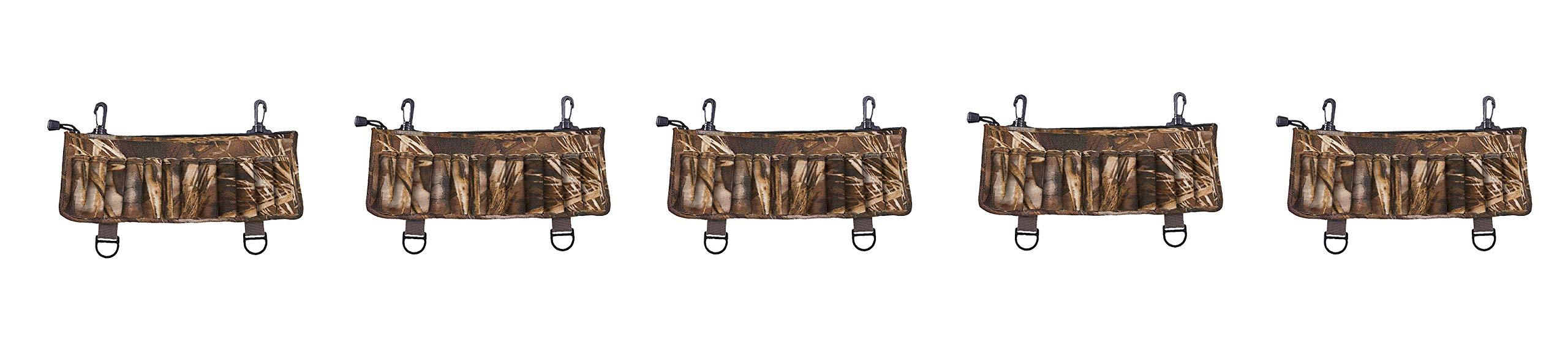Allen Neoprene Clip-On 24 Shotshell Holder, Realtree MAX-5 Camo (Pack og 5) by Allen Company