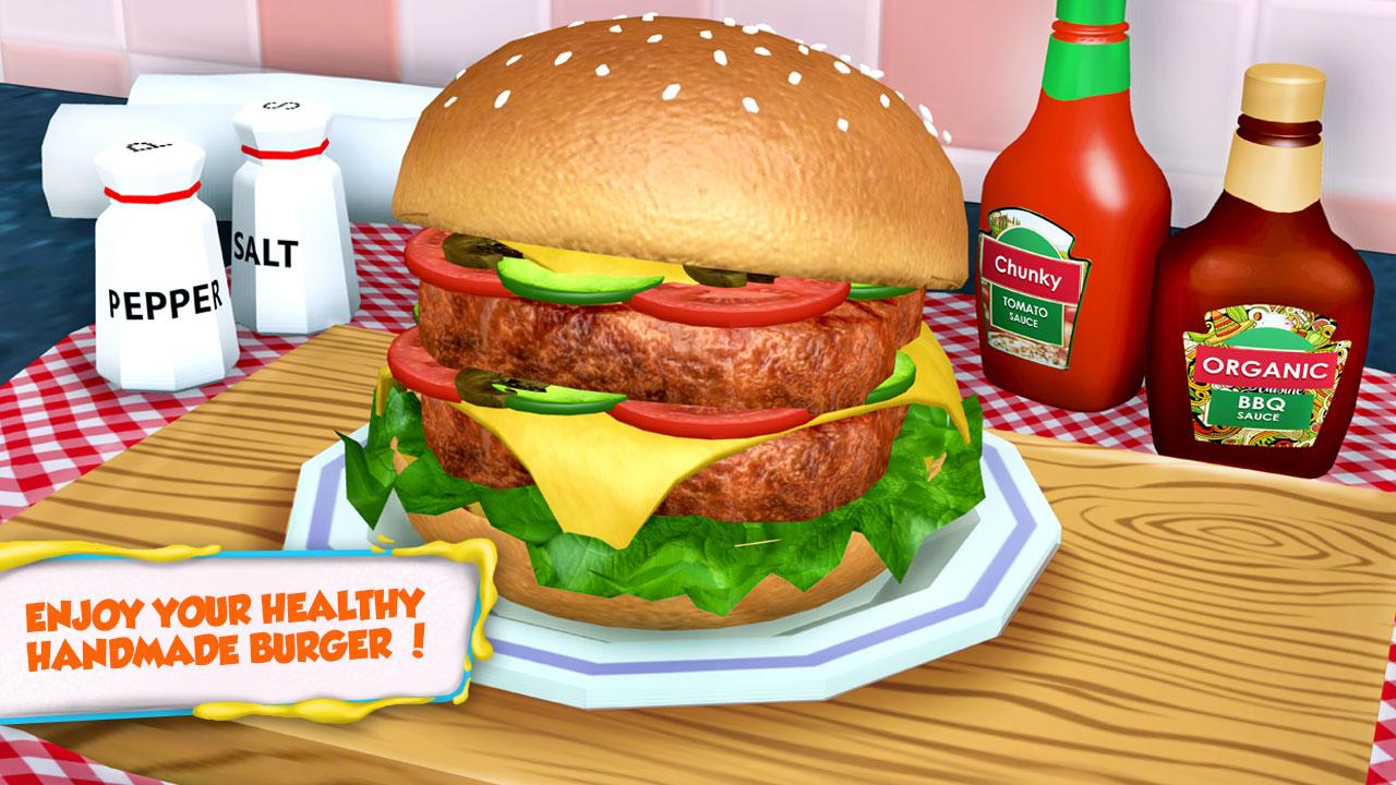 Tienda 3D Burger Maker: Juegos Kids Lunch Maker GRATIS ...