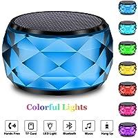 LFS Colored Changing RGB LED Night Light Portable Bluetooth Wireless Mini Speaker