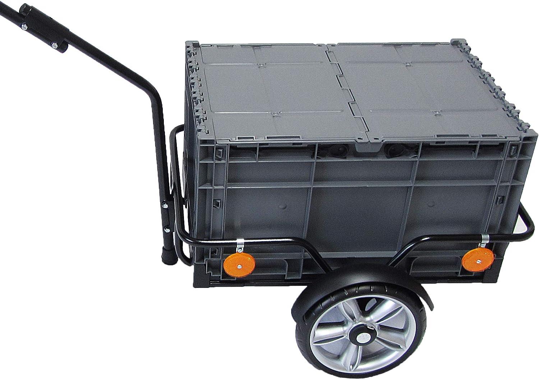 Fahrradanhänger Transportanhänger Lastenanhänger Handwagen Gepäckwagen DE F6N0