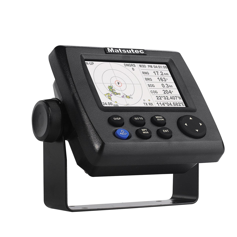 Matsutec HP-33A 4.3'' Color LCD Class B AIS Transponder Combo High Marine GPS Navigator
