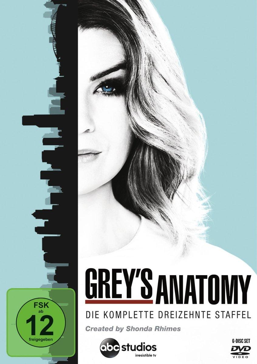 Grey\'s Anatomy: Die jungen Ärzte - Die komplette 13. Staffel 6 DVDs ...