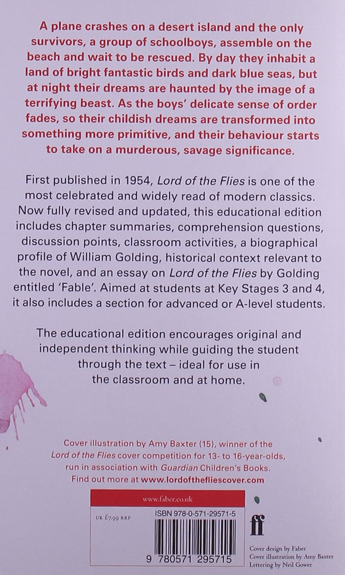 an analysis of the adventure novel the lord of the flies Lord of the flies study guide contains a biography of william golding, literature essays, quiz questions, major themes, characters, and a full summary and analysis.