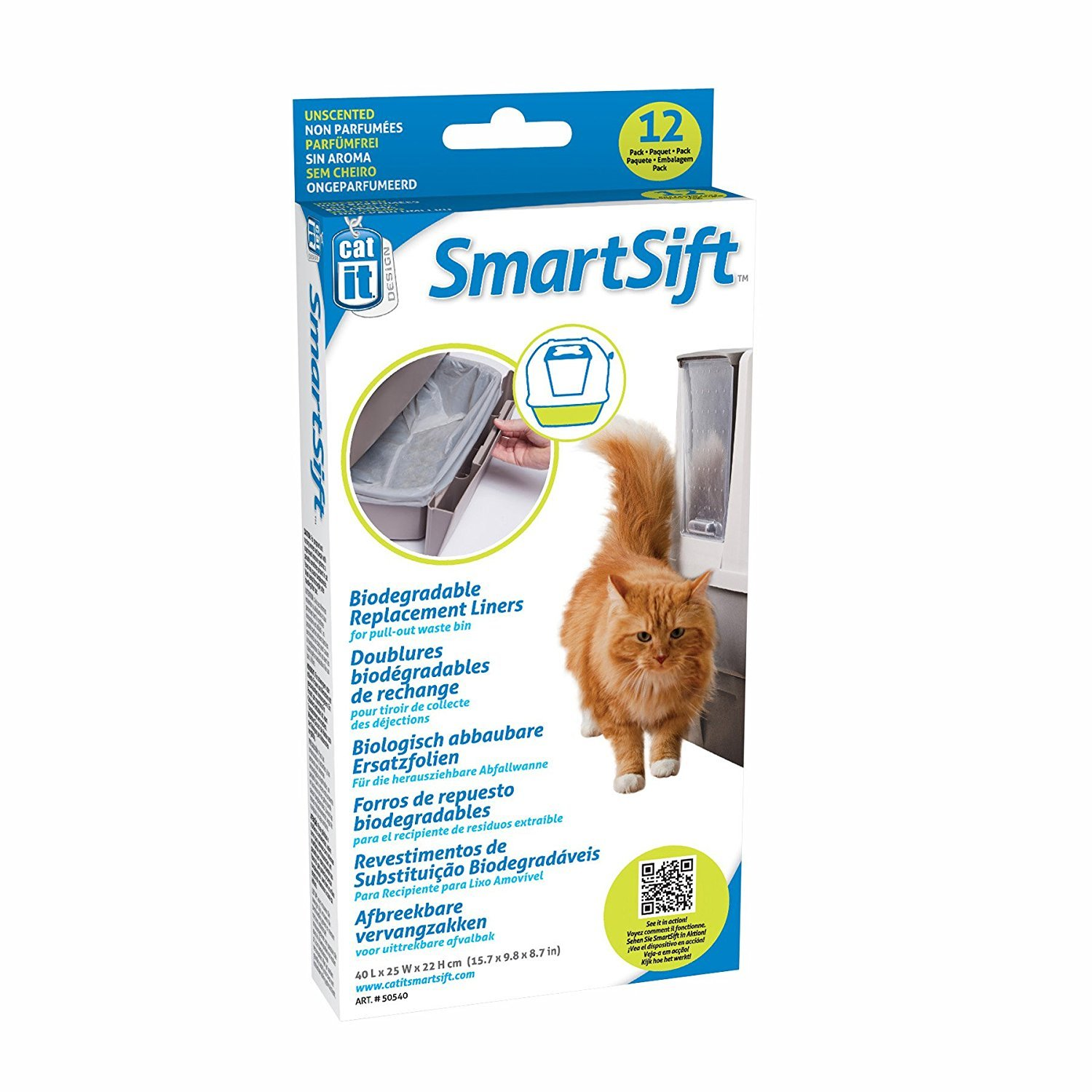 Amazon.com : Catit Design Liner for Sifting Cat Pan Drawer and Pan Base : Pet Supplies