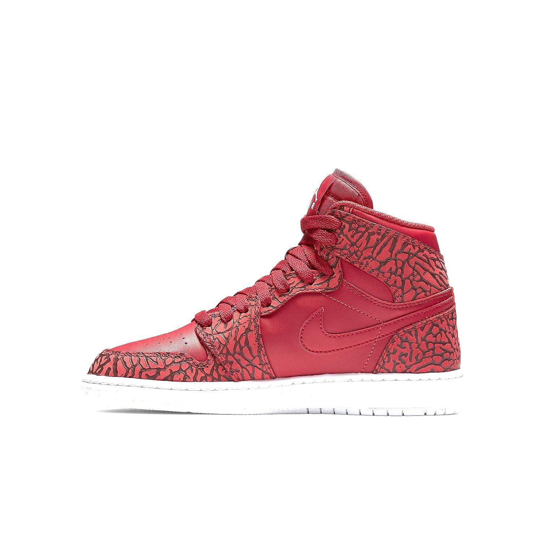 buy online 47c35 27948 Nike Air Jordan 1 Retro Hi Prem BG, Chaussures de Sport-Basketball garçon:  Amazon.fr: Chaussures et Sacs