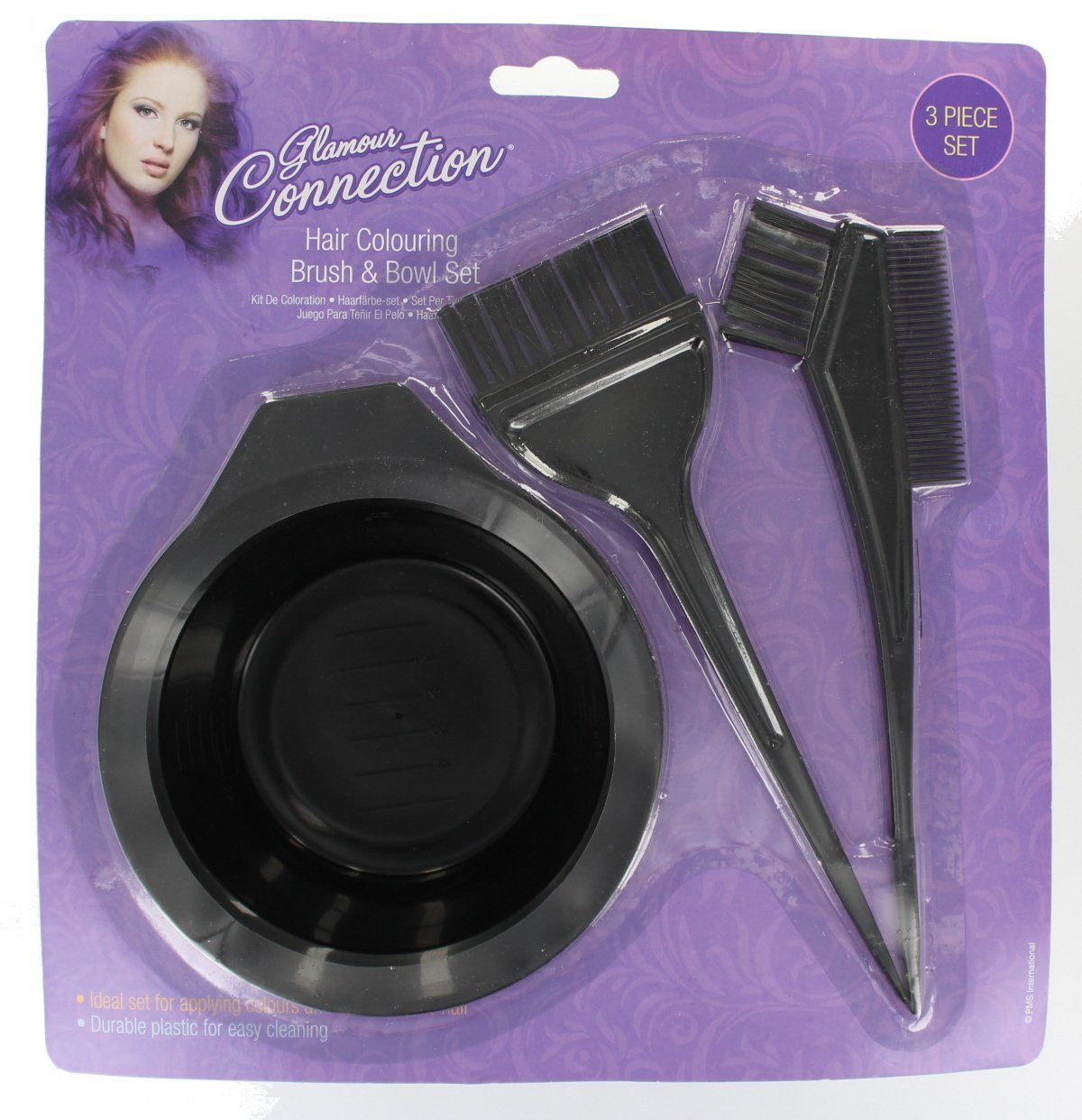 3 Piece Hair Colouring Tool Set