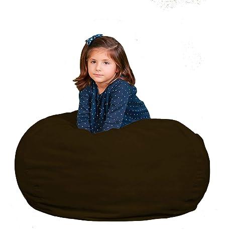 Amazon.com: Kids Bean Bag silla Premium Cozy Cozy Puf ...