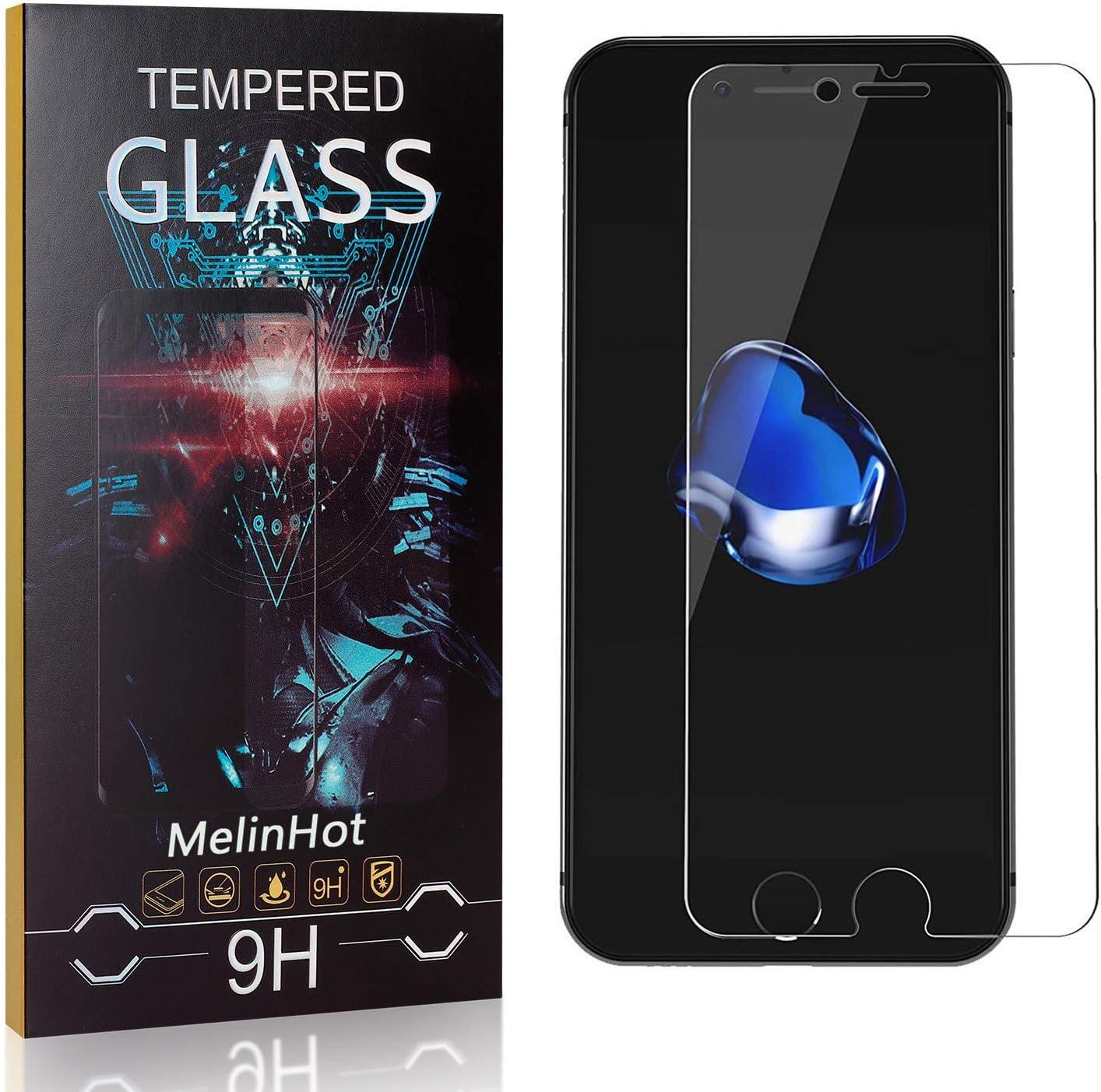 3D Touch Ultra R/ésistant Protection en Verre Tremp/é /Écran pour iPhone XS//iPhone X MelinHot Verre Tremp/é pour iPhone XS//iPhone X 1 Pi/èces sans Traces de Doigts
