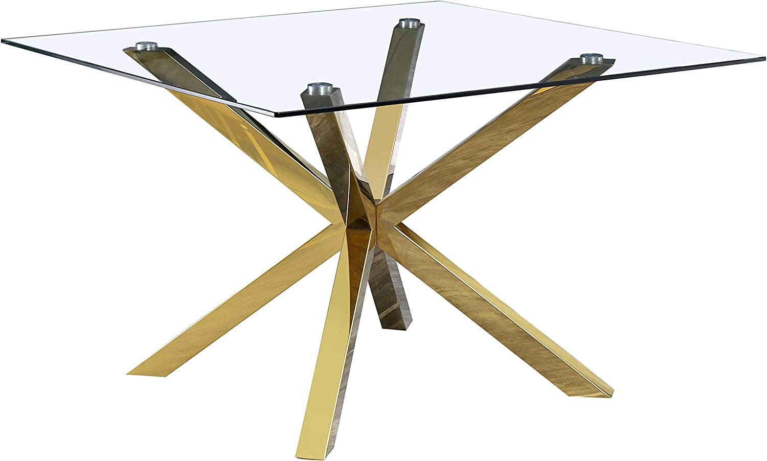Best Quality Furniture Dining Table Only, Gold