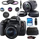 Canon EOS Rebel T6i DSLR Camera with 18-55mm STM Lens + Deal-Expo Essential Accessories Bundle