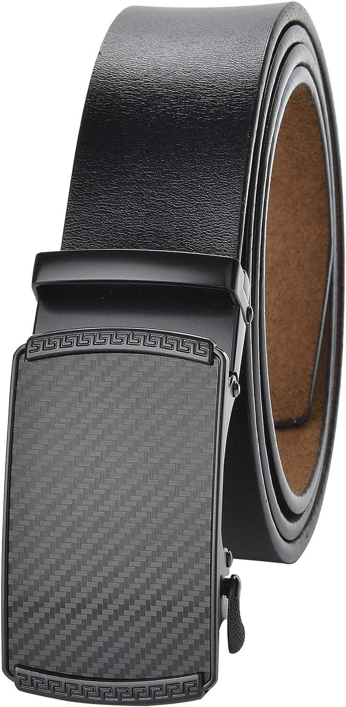 Cintura Uomo Nero Classico Larghezza 3,2 cm 105 110 115 120 125 130 cm