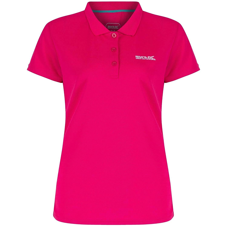 Regatta Great Outdoors Womens//Ladies Maverik III Short Sleeve Polo Shirt